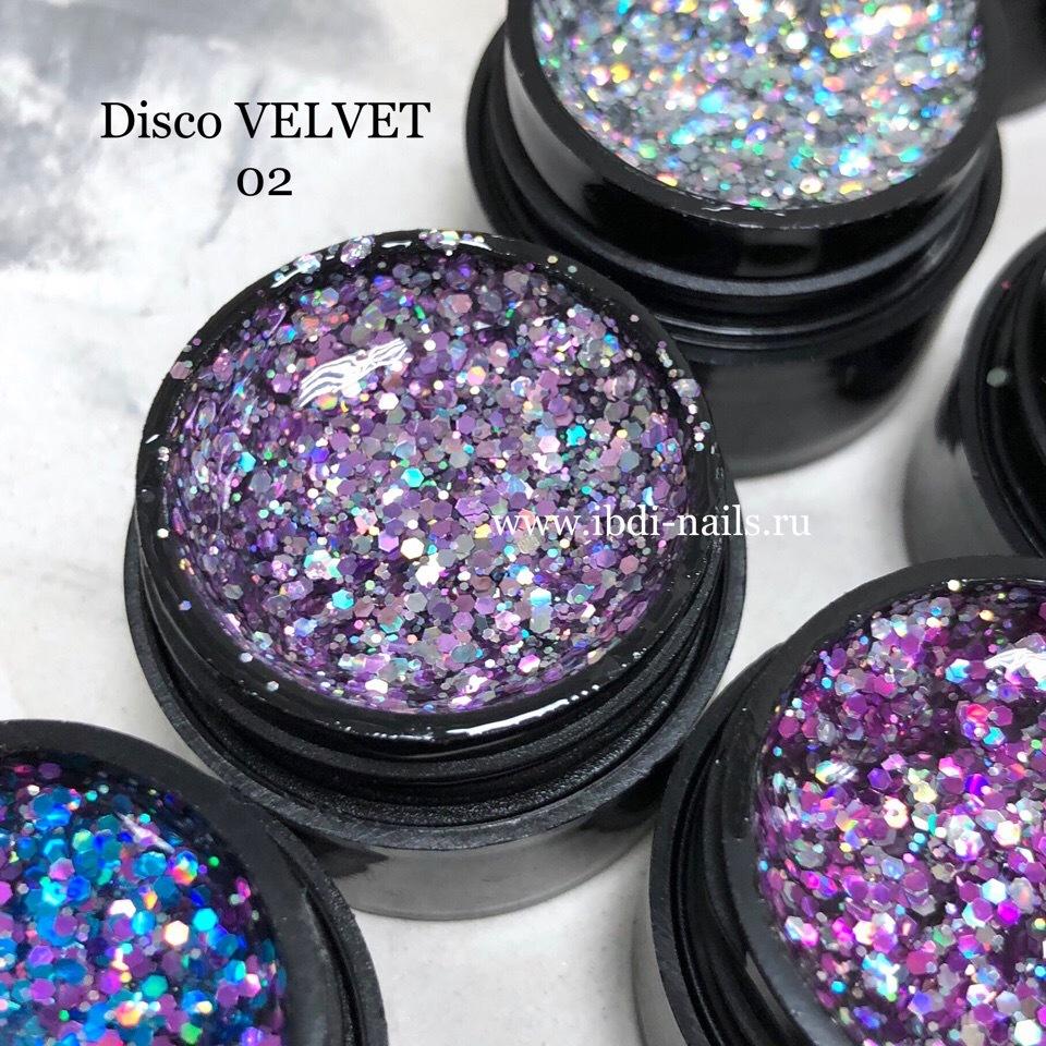 Гель-лак VELVET Disco Gel 02 5г