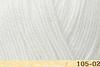 Пряжа Fibranatura Luxor 105-02 (Молочный)