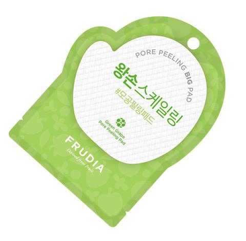 Frudia Фрудиа Отшелушивающие диски с зеленым виноградом (саше) Frudia Green Grape Pore Peeling Pad (Pouch)