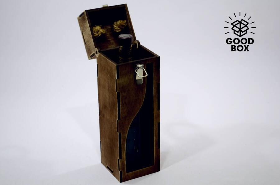 Ящик из дерева для вина