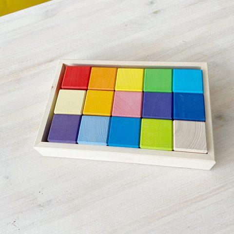 Кубики 15шт в подносе
