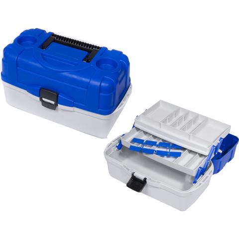 Ящик рыболовный пластиковый Salmo 2х полочный