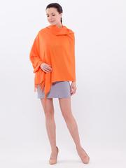 Шарф женский оранжевый aksisur тонкая пашмина 073