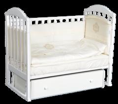 Кроватка Анита 9 универсальный маятник + ящик