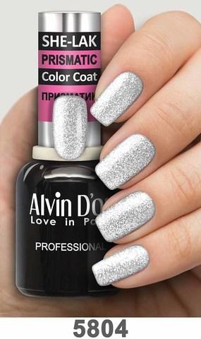 Alvin D`or Лак для ногтей SHE-LAK PRISMATIC  тон 5804 -8мл