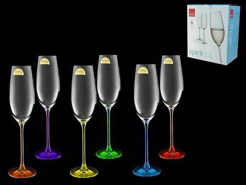Набор бокалов для шампанского «Spirit» Арлекино