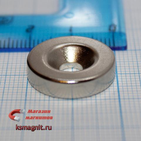 Неодимовый магнит кольцо 20х5х5 мм