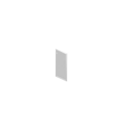 R-03.1 Дверь стеклянная в алюминиевой раме
