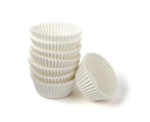 Форма-капсула Круглая (белая) 35 мм- 100 штук