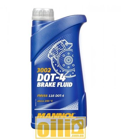 Mannol 3002 Brake Fluid DOT-4 1л