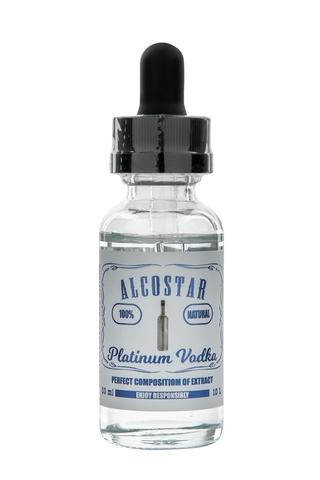 Натуральная эссенция Alcostar Platinum Vodka (Платиновая водка), 30 мл