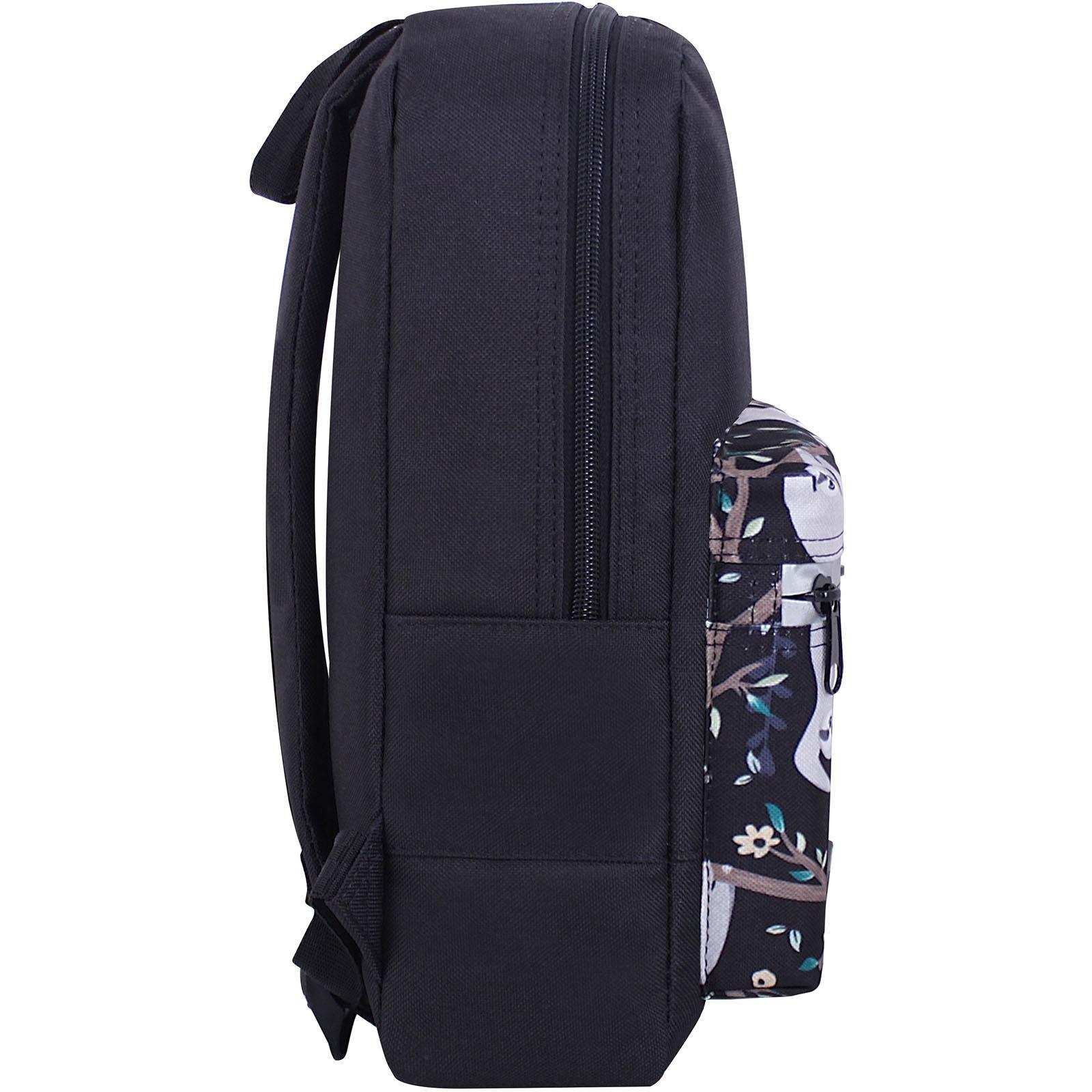 Рюкзак Bagland Молодежный mini 8 л. черный 760 (0050866) фото 2
