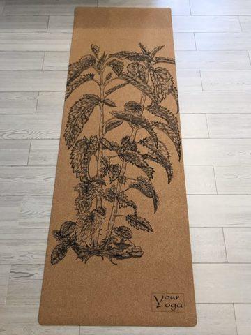 Пробковый коврик для йоги Nettle 178*61*0,3 см