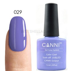 Canni, Гель-лак № 029, 7,3 мл