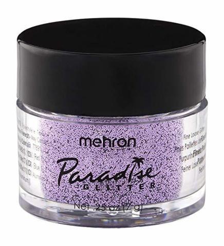 MEHRON Рассыпчатые блестки Paradise Glitter, Pastel Lavender (Пастельный лавандовый), 7 г