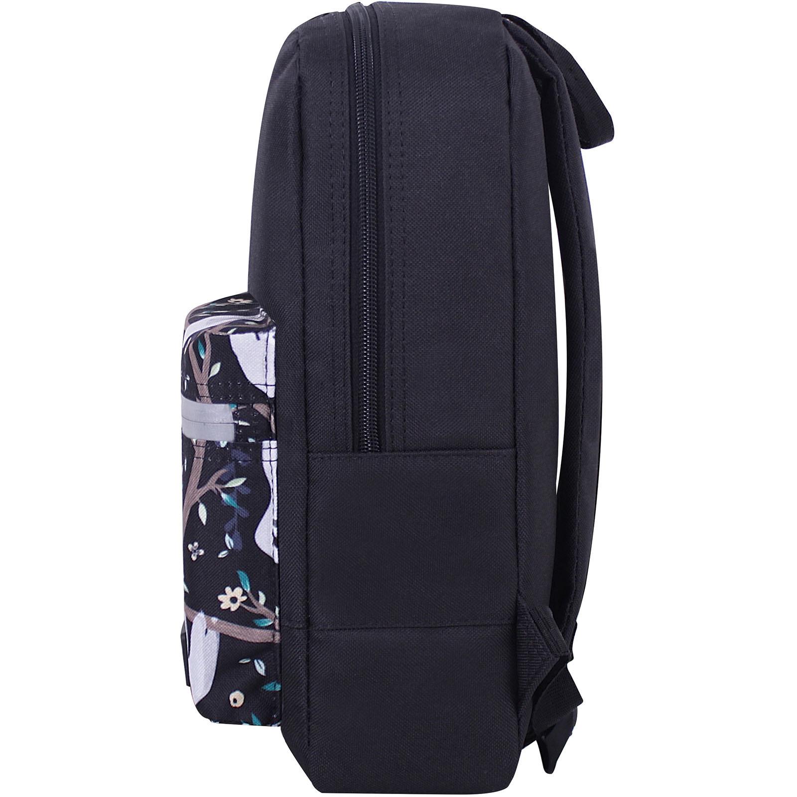 Рюкзак Bagland Молодежный mini 8 л. черный 760 (0050866) фото 3
