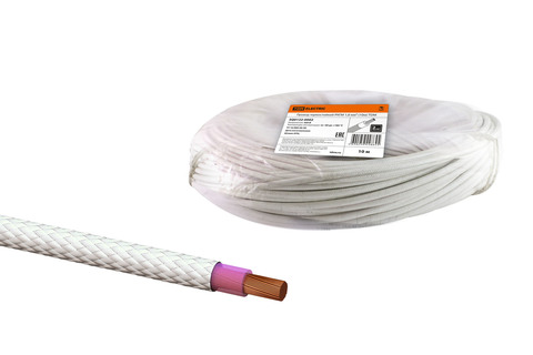 Провод термостойкий РКГМ 1,0 мм² (20м) TDM
