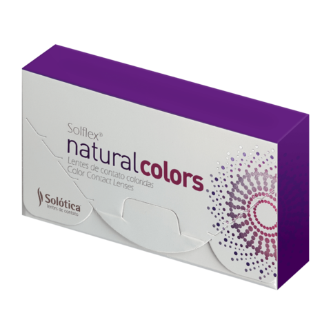 Серые линзы Solótica® Solflex NC - Cristal