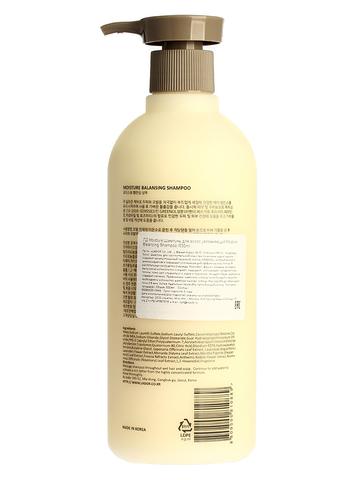 Шампунь для волос увлажняющий Moisture Balancing Shampoo 530ml 530мл