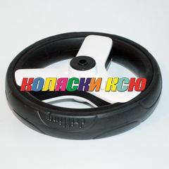 Колесо для детской коляски №006044 не надув 10дюймов без вилки низкопрофильное