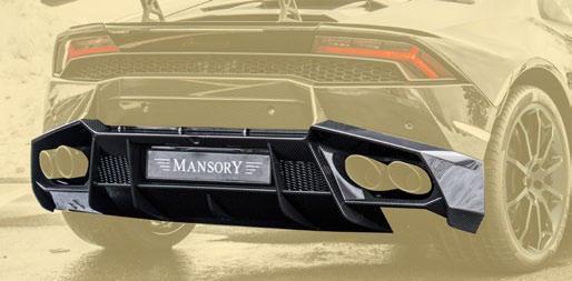 Карбоновый диффузор Mansory Style для Lamborghini Huracan