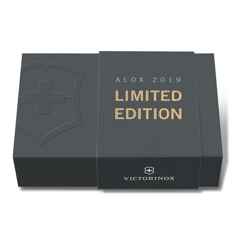 Нож Victorinox Alox Classic, 58 мм, 5 функций, золотистый (подар. упаковка)