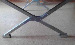 Раскладушка туристическая - походная кровать Сибтермо складная 195*75 см