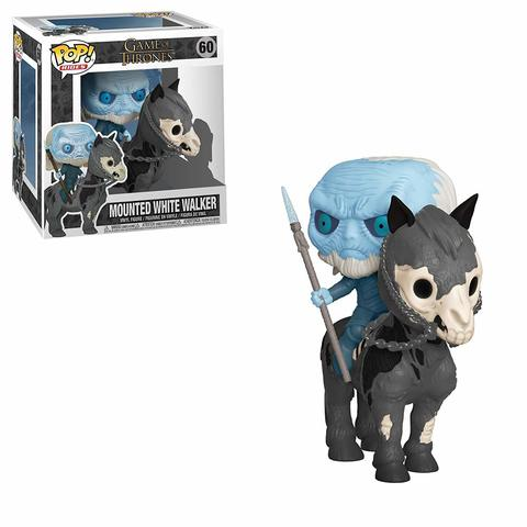 Фигурка Funko POP! Rides: Game of Thrones S10: White Walker on Horse