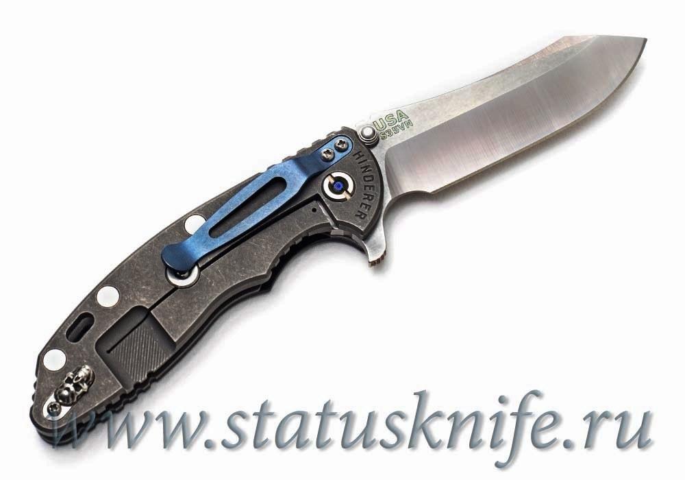 Нож Hinderer XM-18 3.5″ Haki Skinner Semi-Custom Limited - фотография