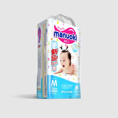Трусики MANUOKI, 6-11 кг (M)