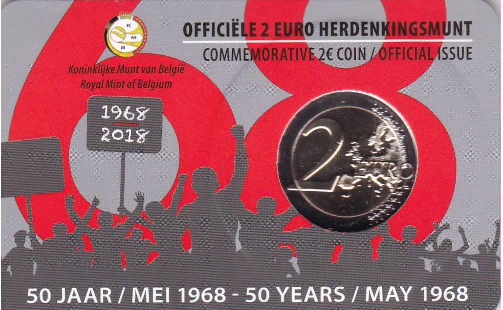 2 евро 2018 г.
