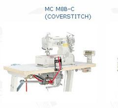 Фото: Устройство для нижней подачи резинки (тесьмы), с размотчиком, в сборе. Под распошивалку MC M8B-C