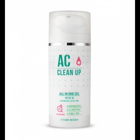 Etude House AC Clean Up All in One Gel универсальный гель для проблемной кожи