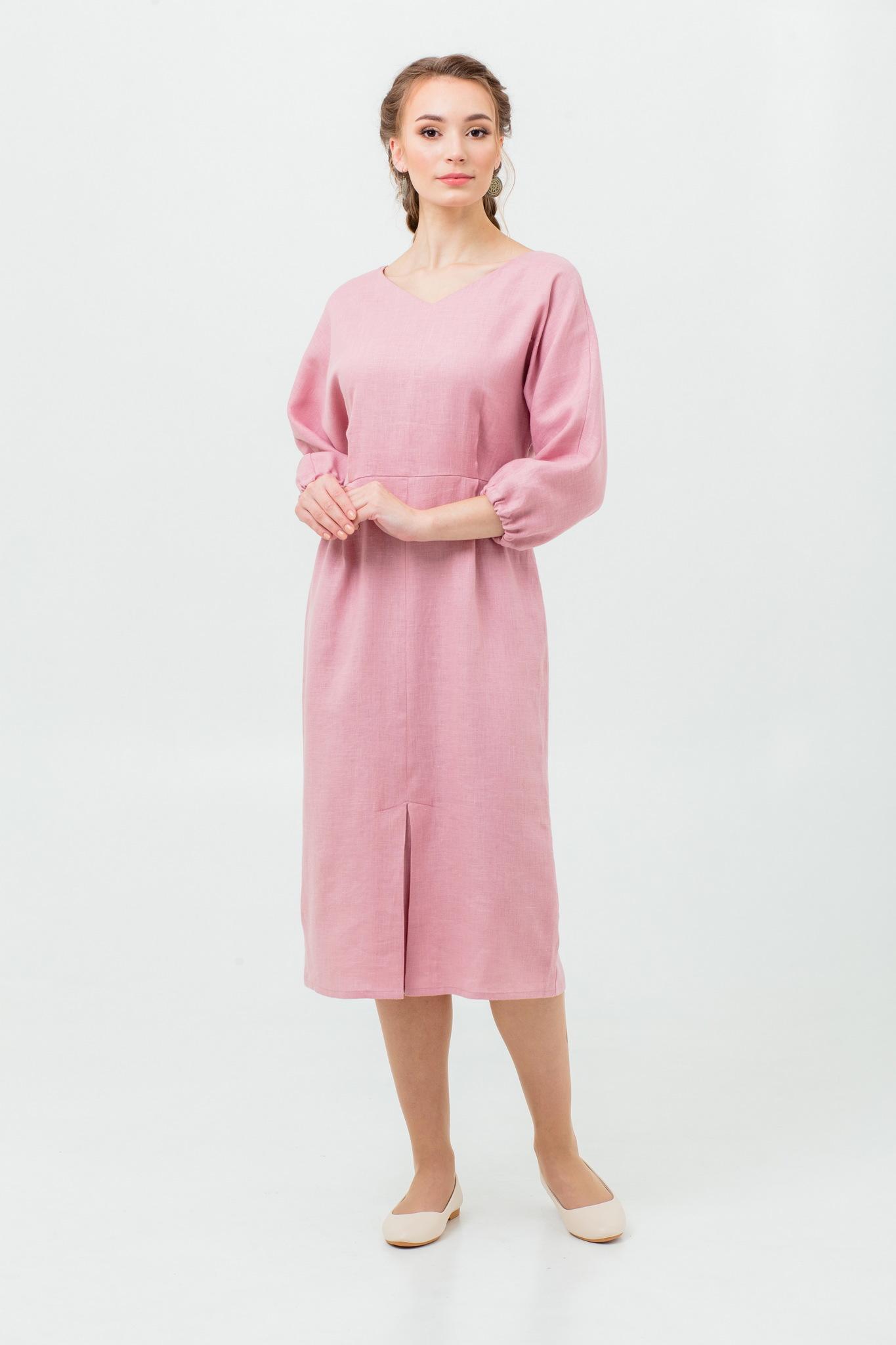 Платье в русском стиле Нежный румянец