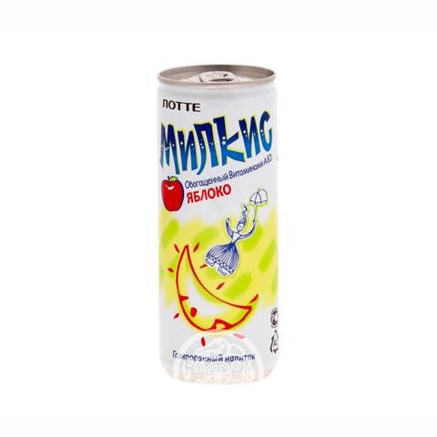 Напиток газированный Милкис яблоко 250мл Lotte Корея