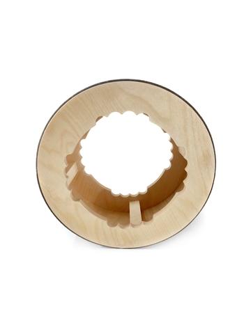 Йога колесо Mandala Grey 32 см