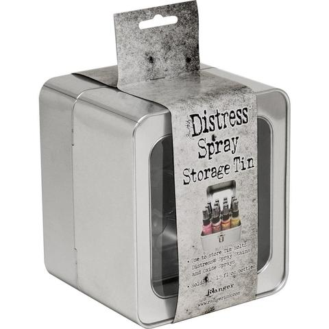 Органайзер для хранения  спреев  Distress Oxide Spray Storage Tin by Tim Holtz - Ranger