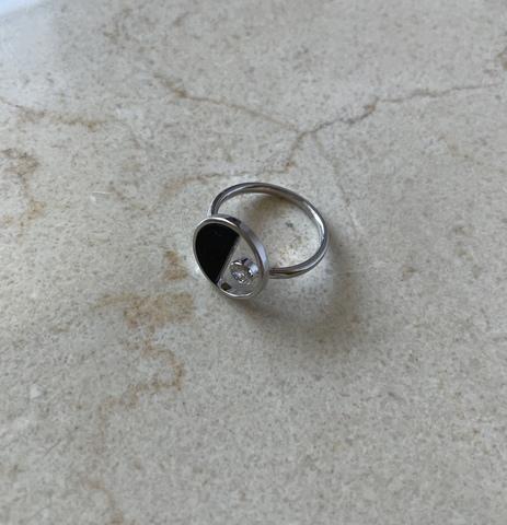 Кольцо Энигама, серебряный цвет