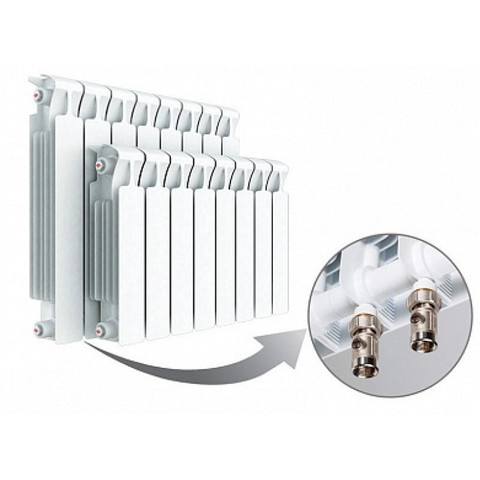 Радиатор Rifar Monolit Ventil 350