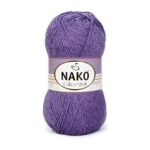 CALICO Simli Nako (49% Хлопок, 49% Премиум акрил,2% Металлик 100гр/240м)