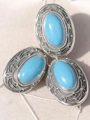 Бермеха (кольцо + серьги из серебра)