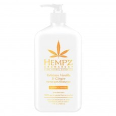 Hempz - Уход для тела: Молочко для тела Имбирь и Ваниль Таити (Tahitian Vanilla & Ginger Moisturizer), 500мл