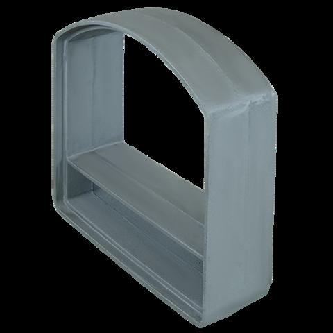 Удлинитель портала печи Гефест ЗК 35П/45П, Гром 50/80 - 100 мм