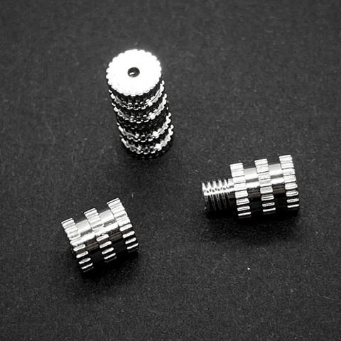 Замочек на резьбе 11х5 мм серебро 925 1 шт