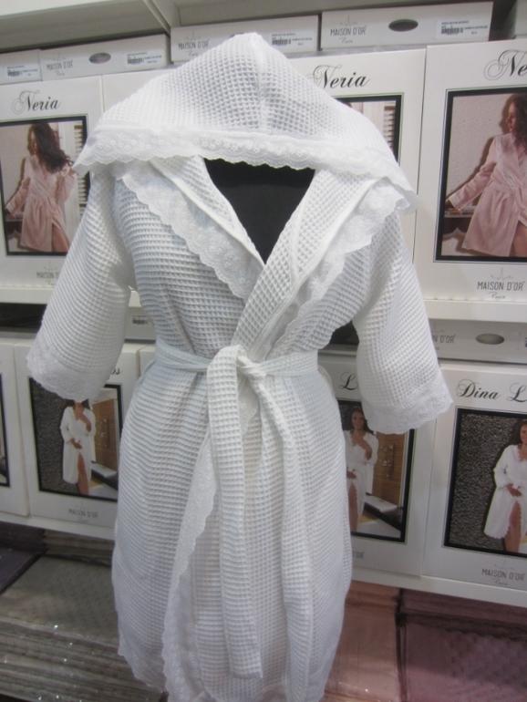Легкие и вафельные халаты GREEK - ГРЕК женский вафельный  халат  Maison Dor Турция грек.jpg
