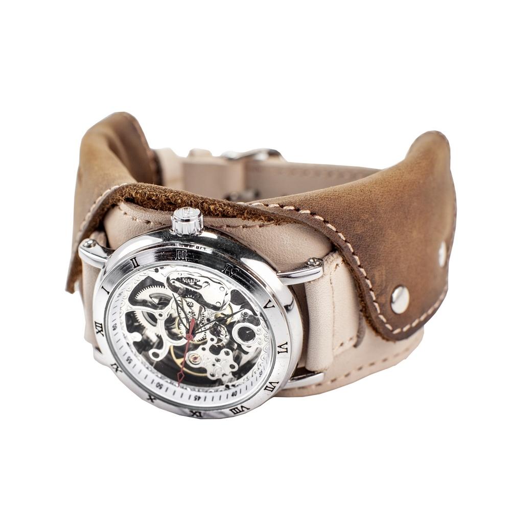 Часы скелетоны механические Cowboy 2.0 YOURTIME