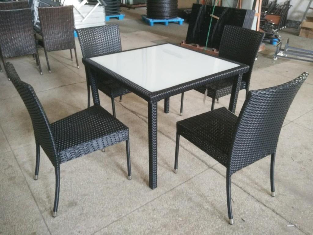 Комплект мебели F6032 5 предметов (стол,4 стула)