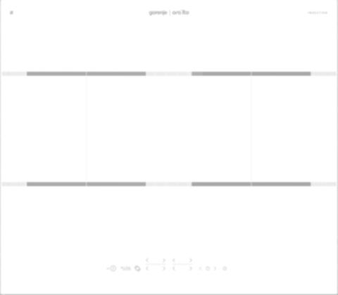 Индукционная варочная панель Gorenje IT646ORAW