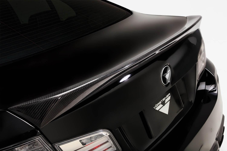 Карбоновый cпойлер на багажник M Tech Vorsteiner Style для BMW 5er