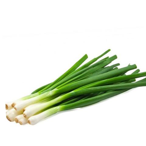 Лук зеленый, очищенный, 1 пучок